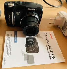 Canon Powershot SX120 IS 10 Megapixel Digital Camera