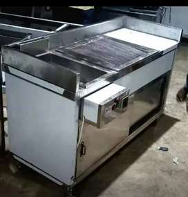 Fryer 16 Litre Automatic plus Grill 5x2 foot height 3 Foot
