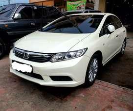 Honda civic 2012 automatic putih 2013