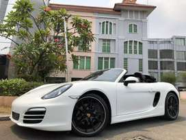 Porsche Boxster 2.7 PDK 981 Cabrio Soft Top 2014 White Km5000 Full Opt