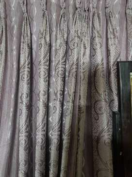 2 piece Light purple curtains for sale