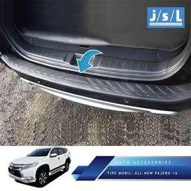 Sillplate Belakang Plastik Mobil : All New Pajero ^KIKIMaccesorieSport