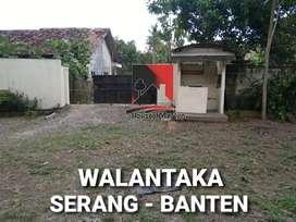 TANAH dan BANGUNAN LUAS MURAH di Walantaka Serang Banten DEKAT TOL