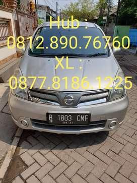 Nissan Livina XR Manual Tahun 2011 Bulan 6 pajak panjang Silver