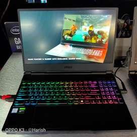 Kredit Laptop MSI Gaming GL65 RGB | 3mnt Acc | Tanpa Jaminan