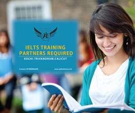 REQUIRED IELTS TRAINING PARTNER IN COCHIN, CALICUT & TRIVANDRUM