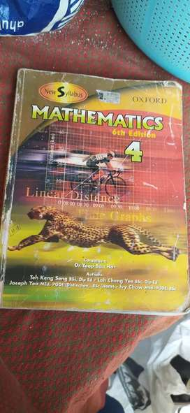 O-Level Books (all subjects : PHY, math, Eng,etc) excellent condition