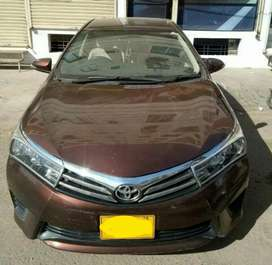Corolla Altis 1.6 2016 on Easy installment