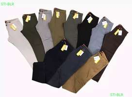 Original Branded Men's Chino Trousers With Bill.