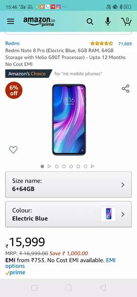 Redmi note 8 pro seal pack