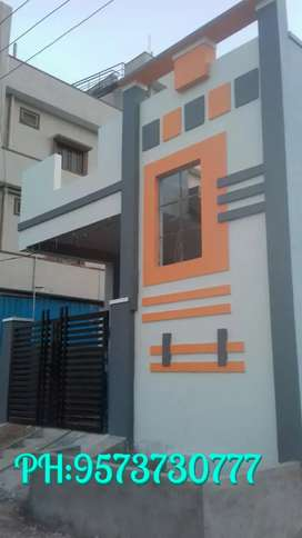 100sq North New Independent house for sale near  boduppal