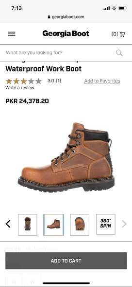 Georgia boots (orignal) safety shoes
