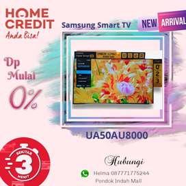 Samsung Smart TV UA50AU8000 Kredit Tanpa Kartu Kredit Proses Cepat