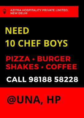 Chef for Fast Food Restaurant
