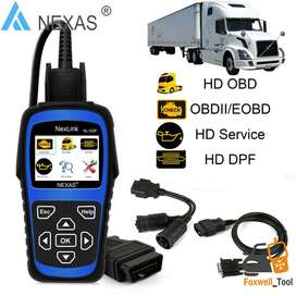 Ready Stock Nexas NL102P Plus Heavy Duty Trucks CAR OBD2 Scanner