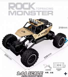 RC GoldMetal Rock T Racing MonsterCrawler1:14 2.4Ghz 4WDMountainRally