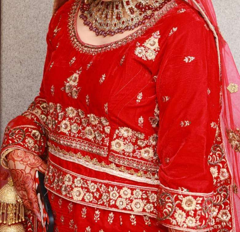 Bridal Lehnga (Red Colour ) 0