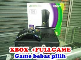 Xbox 360 Slim HARDISK 160GB >>Game bebas pilih