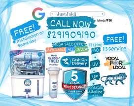 bhnjuf756 RO Water Purifier Water Filter Water Tank TV DTH.  Free Deli