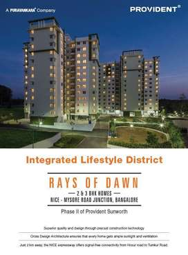 2 BHK, 3 BHK apartments for sale in Mysore road Bangalore