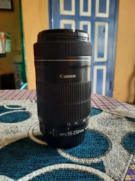 Lensa Canon 55-250 STM
