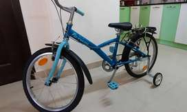 New BTWIN bicycle with all accessories for sale
