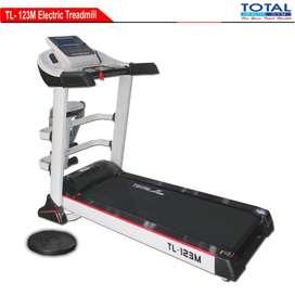 COD alat fitness treadmill elektrik tl-123M treadmil 3 hp