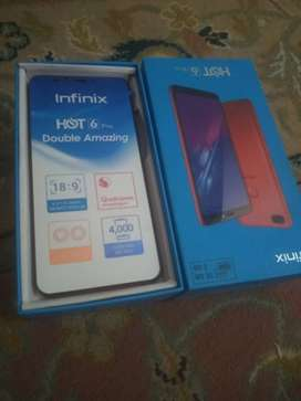 Infinix hot 6 pro New condition