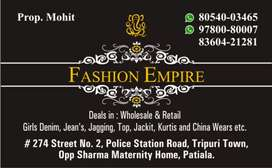 Fashion Empire . Wholesale dealer of girls wears