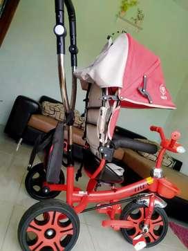 Sepeda roda 3 merk Trex