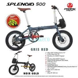 Pacific Splendid 500 16 Alloy Hydroulic 53T