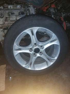 Mazda rx8 tyres and rims for sale