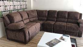 Brand New sofa set on installment at very affordable price