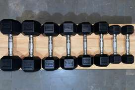 Imported quality Hexagonal dumbells cheapest price