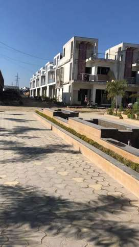 Swastik green 4 bhk duplex for sale at badowala
