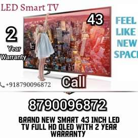 43 INCH BRAND NEW SMART 4k HDR led tv full  WITH 2 year warranty