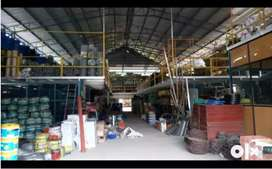 15000 Sqft Ready to Run Hardware Shop for Rent