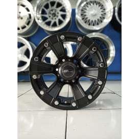 Cicil Velg Mobil JUNGGEL HSR Ring 15 Black