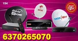 TATA SKY ! DISH TV !VIDEOCON D2H ! DTH CONNECTION !  AIRTEL DIGITAL TV