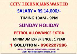 Wanted Experience Cctv Technician Only