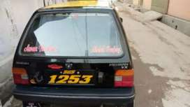 Black colour scheme taxi in good condition