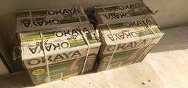 Okaya  inverter  battery and panal