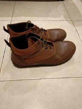 Sepatu Kulit Buccheri Kondisi Baru Formal/Casual