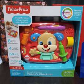 Fisher Price Laugh and Learn Puppy's Check- Up. Mainan Edukasi Anak