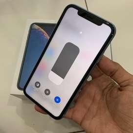 Iphone xr 64gb dula sim nano blue