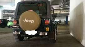 Jeep Wrangler tipe YJ Plat nomor pilihan