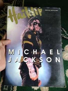 Majalah musik Hai klip Michael Jackson