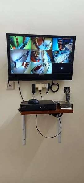 CCTV AHD 4ch kamera lensa 3mp, Megamendung