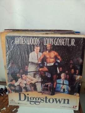 LASER DISC Diggstown James wood&Louis Gosset,JR.
