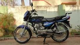 Blue Kawasaki Bajaj Caliber 115 June 2003 model in a best condition